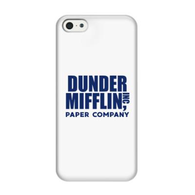 Чехол для iPhone 5/5s Dunder Mifflin / The Office