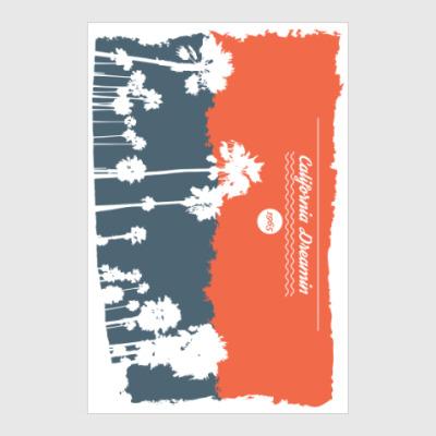 Постер Город в Калифрнии (USA)