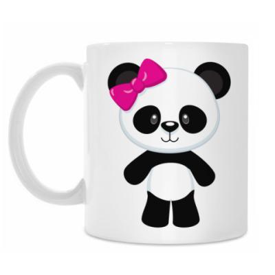 Кружка Panda Girl