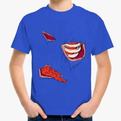 Детская футболка Зомби внутренности