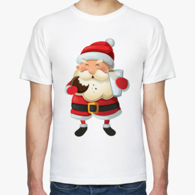 Футболка Eating Santa