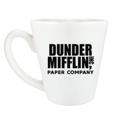 Чашка Латте Dunder Mifflin / The Office