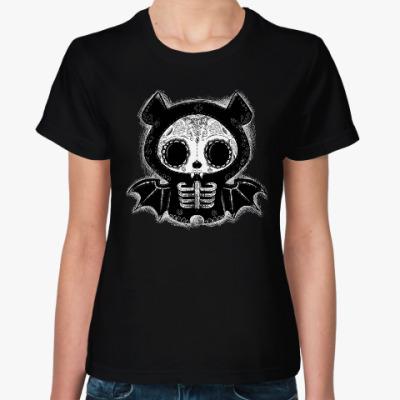 Женская футболка Летучая мышь Диего
