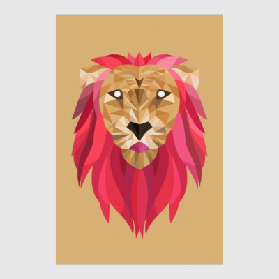 Постер Лев / Lion
