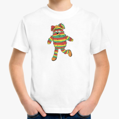 Детская футболка Радужный герой