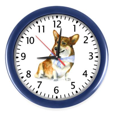 Настенные часы Корги