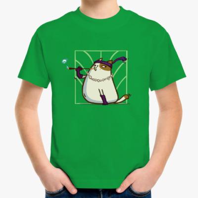 Детская футболка Кэтсби — Пятничный Котик №33