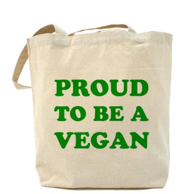 Сумка  'Proud to be a vegan'
