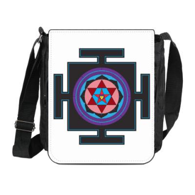 Сумка на плечо (мини-планшет) Вартали-янтра
