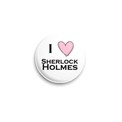 Значок 25мм  'Шерлок Холмс'