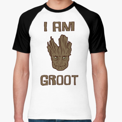 Футболка реглан I am Groot