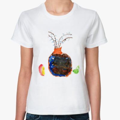 Классическая футболка Горшок