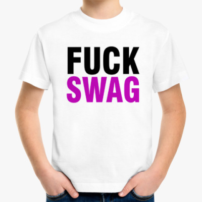 Детская футболка FUCK SWAG