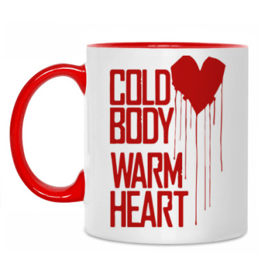 Кружка warm heart