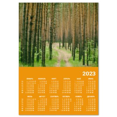 Календарь Лес