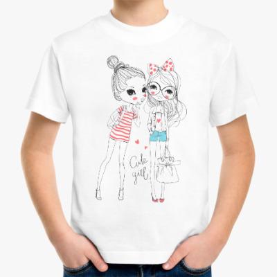 Детская футболка Девочки