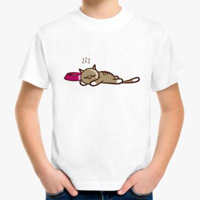 Детская футболка SLEEP CAT