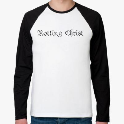 Футболка реглан с длинным рукавом Rotting Christ
