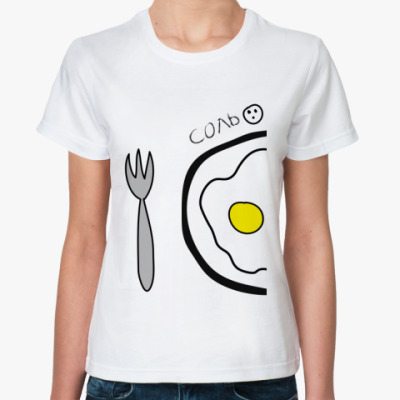 Классическая футболка Соль