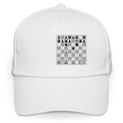 Кепка бейсболка  шахматы