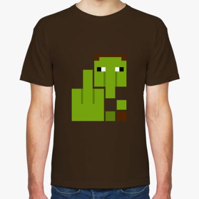 Футболка Майнкрафт Житель, Minecraft