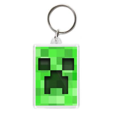 Брелок Minecraft Creeper