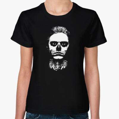 Женская футболка Evan Peters