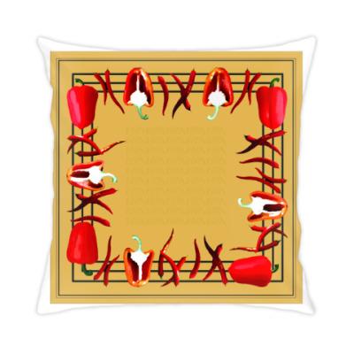 Подушка острые и сладкие перцы