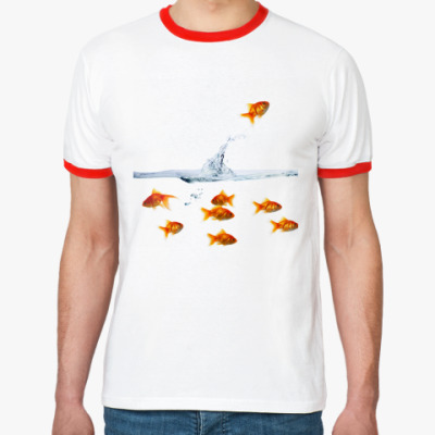 Футболка Ringer-T Рыбки