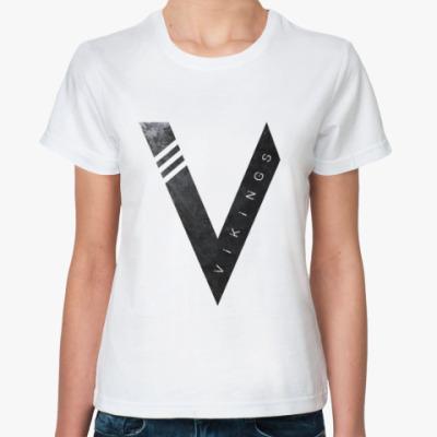 Классическая футболка Vikings