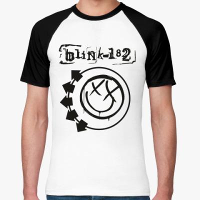 Футболка реглан Blink 182
