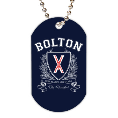 Жетон dog-tag House Bolton