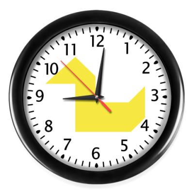 Настенные часы Утка танграм