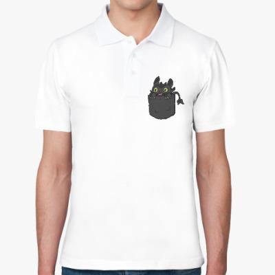 Рубашка поло Ночная Фурия в кармане