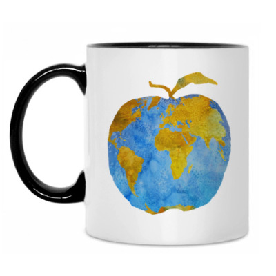 Кружка Apple Earth