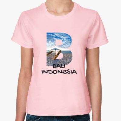 Женская футболка Океан, Бали, Индонезия