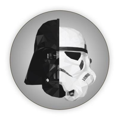 Костер (подставка под кружку) Star Wars: Вейдер и Штурмовик