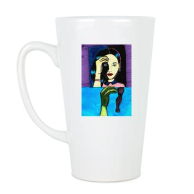 Чашка Латте Brunette Mug