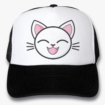 Кепка-тракер Happy Cat