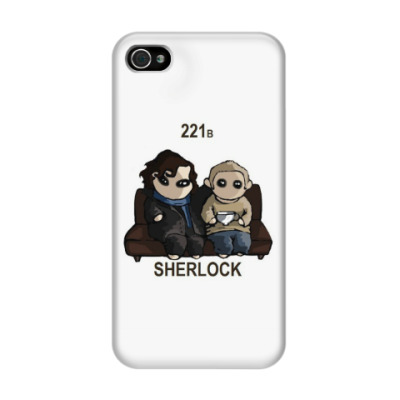 Чехол для iPhone 4/4s Sherlock