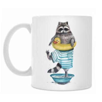 Кружка Funny Raccoon