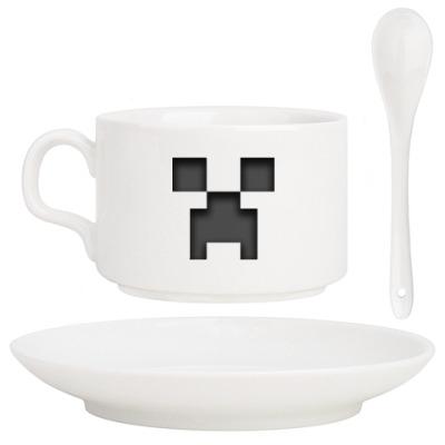 Кофейный набор Minecraft Creeper