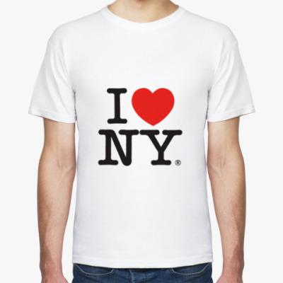 Футболка I Love New York