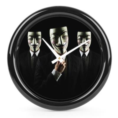 Часы Anonymous, we are Legion!