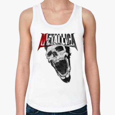 Женская майка Metallica Skull