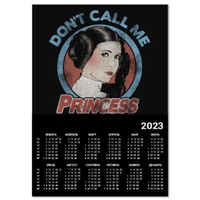 Календарь Star Wars Princess Leia Organa