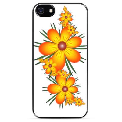 Чехол для iPhone Огнецветы