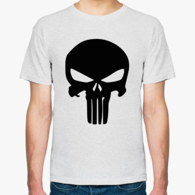 Футболка Каратель Череп, Punisher Skull