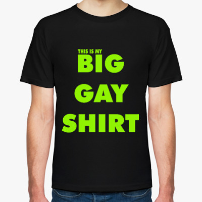Футболка BIG GAY SHIRT [COLOR+]
