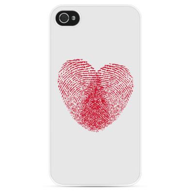 Чехол для iPhone Отпечатки Любви